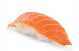 Суши с норвежским лососем