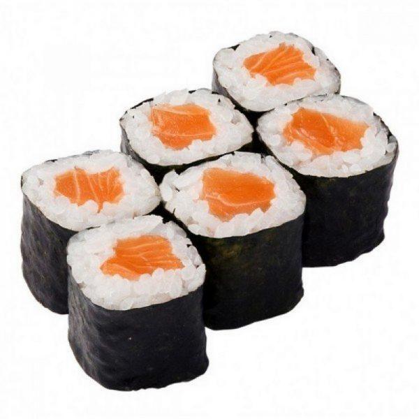 Роллы с лососем (семгой)